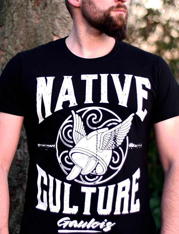 T-shirt culture autochtone